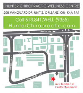 Hunter Chiropractic Wellness Centre Map